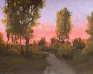 Painting With Friends-Sunset Evening