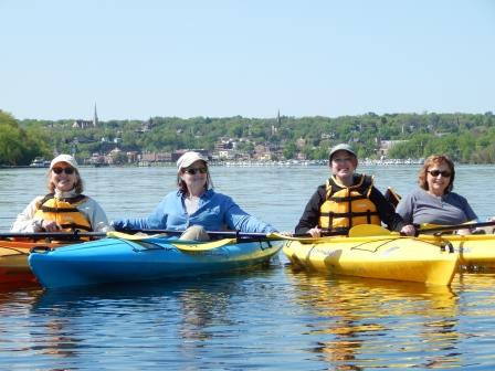 Herons and History Guided Kayak Tours presented by Wahoo
