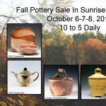Fall Group Pottery Sale at Sunrise Pottery