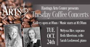 Tuesday Morning Coffee Concert Featuring Melyssa R...