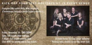 SimpleGifts Holiday Concert with Billy McLaughlin