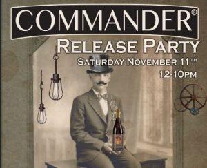 Commander Barleywine Release Party