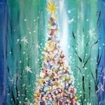 Painting on the St Croix - Oh Christmas Tree