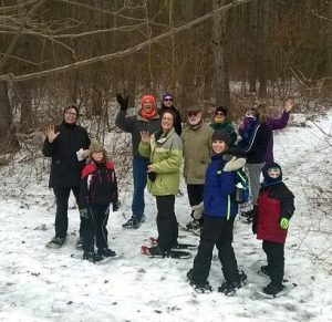 Learn to Snowshoe - Homestead Parklands on Perch Lake