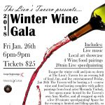 Winter Wine Gala Presented By Lion's Tavern