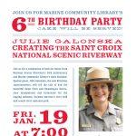 Creating the St. Croix National Scenic Riverway + Marine Library Birthday!