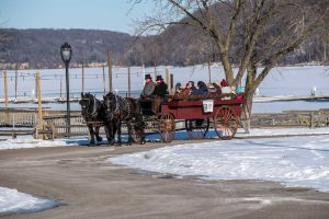 FREE Horse-Drawn Wagonette Rides