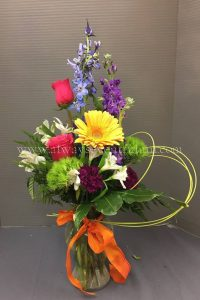 Spring Blooms Wine & Design Floral Arranging Class