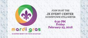 Mardi Gras at JX Event Venue