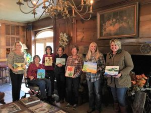 Painting Class at the Outing Lodge