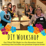 Sawdust Savvy DIY Wood Sign Workshop with The Tilt...
