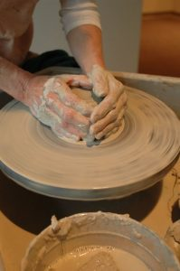 Pottery on the Wheel: Adult and Child Ages 7-12