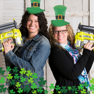 Sawdust Savvy St. Patty's Day Workshop