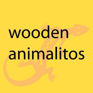 Dia del Niño Wood Animalitos