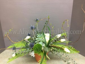Earth Day Wine & Design Floral Arranging Class