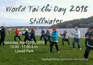 World Tai Chi Day - Stillwater