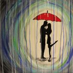 "Paint on the St. Croix: ""Couple in the Rain"""