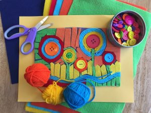 Felt Collage Class for Kids (Grades K-5)