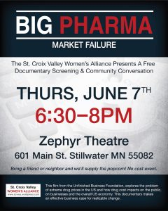 """Big Pharma"" Screening & Conversation"