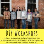 Sawdust Savvy DIY Wood Sign Workshop