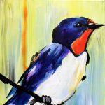 Painting on Scenic St. Croix - Bluebird
