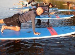 SUP Yoga at Washington County Parks