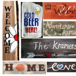 "Freight House Painting and a Pint - ""Wood Signs"""