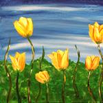 Paint Sip Nosh - Tulips