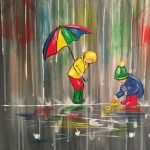"""Paint on the St Croix - """"Puddle Play"""""""