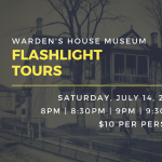 Warden's House Museum Flashlight Tours