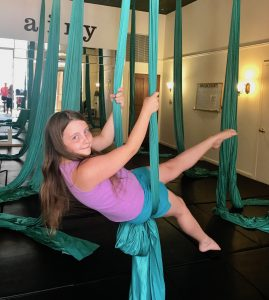 Kids ages 5-13 Cirque Aerial Classes
