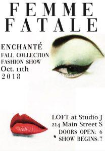 2018 Femme Fatale Fashion Show