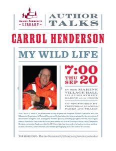 My Wild Life: Carrol Henderson