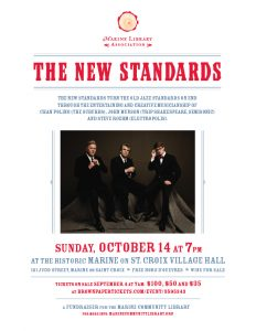 Marine Library Association presents The New Standards in concert!