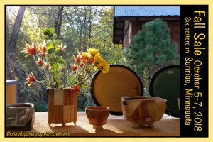 Sunrise Pottery Fall Group Sale