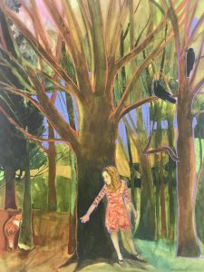 """Edie Abnet and Matthew Krousey: two solo exhibitions"""