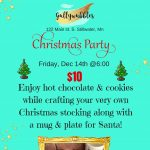 Christmas Crafting Party at Gullywubbles