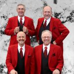 St. Croix Crossing Barbershop Quartet at Marine Vi...