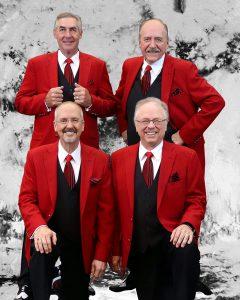 St. Croix Crossing Barbershop Quartet at Marine Vi...