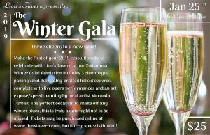 Lion's Tavern 2019 Winter Gala