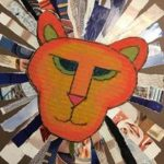 Torn Paper Lions - Collage Art for Kids (Grades K-5)