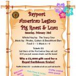 Pig Roast and Luau Fundraiser