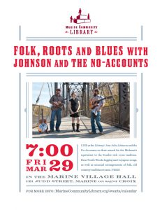 Folk, Roots and Blues with Johnson and the No-Acco...