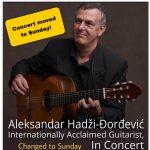 Guitarist Aleksandar Hadzi-Dordevic In Concert