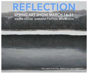 Reflection: Spring Art Show in Afton
