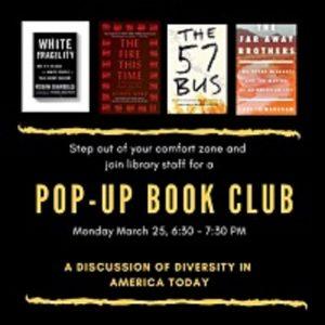 A 'Pop-Up' Book Club – A discussion of diver...