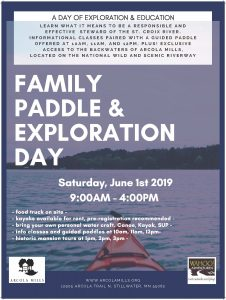Family Paddle & Exploration Day