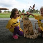 Kids Make Sculpture at Franconia Sculpture Park