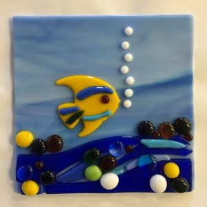 Fused Glass Tile Fun Night