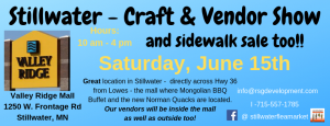 Stillwater Craft & Vendor Show & Sidewalk Sale